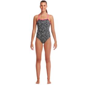 Funkita Eco Single Strap One Piece Swimsuit Women zebra crossing